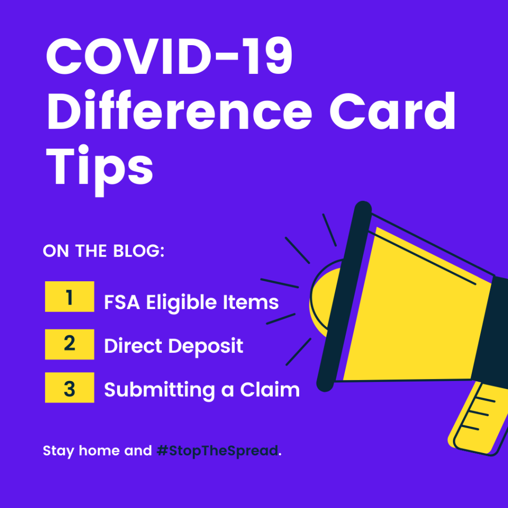 tips for using your difference card during the covid-19 outbreak